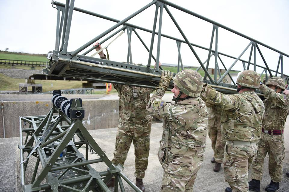 20160903 100 Fd Sqn Bridging guide infantry ssault bridge