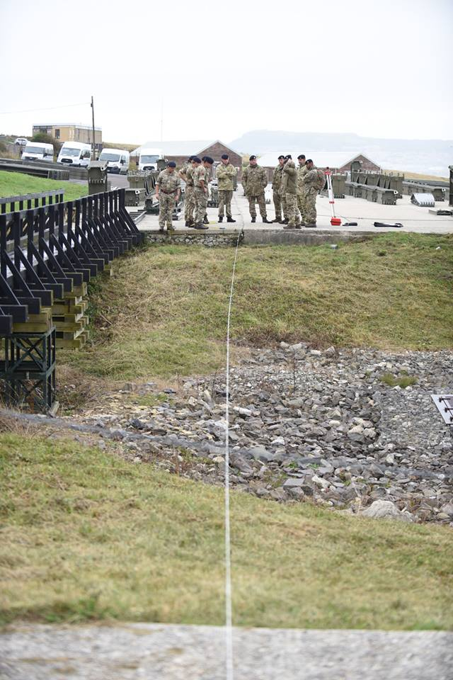 20160903 100 Fd Sqn Bridging measuring