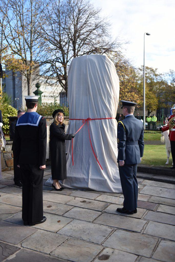 Llanelli War Memorial unveiled