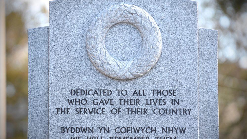 LLanelli War Memorial Inscription