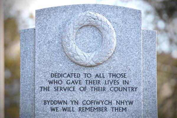 Llanelli War Memorial Unveiling