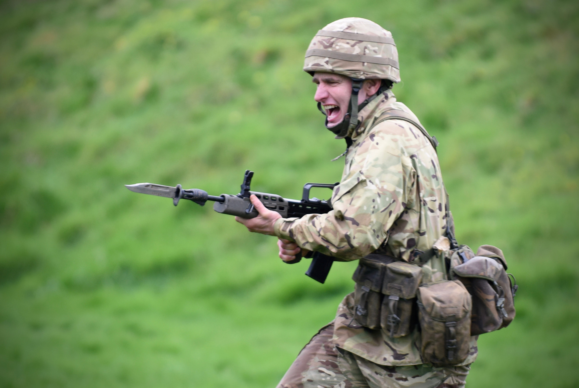 Ranges Bayonet Training Amp Brothers In Arms R Mon Re M