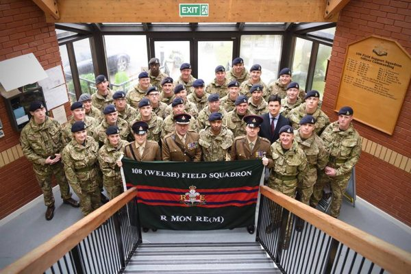 Reborn in a Storm – the return of 108 (Welsh) Field Squadron (Militia)