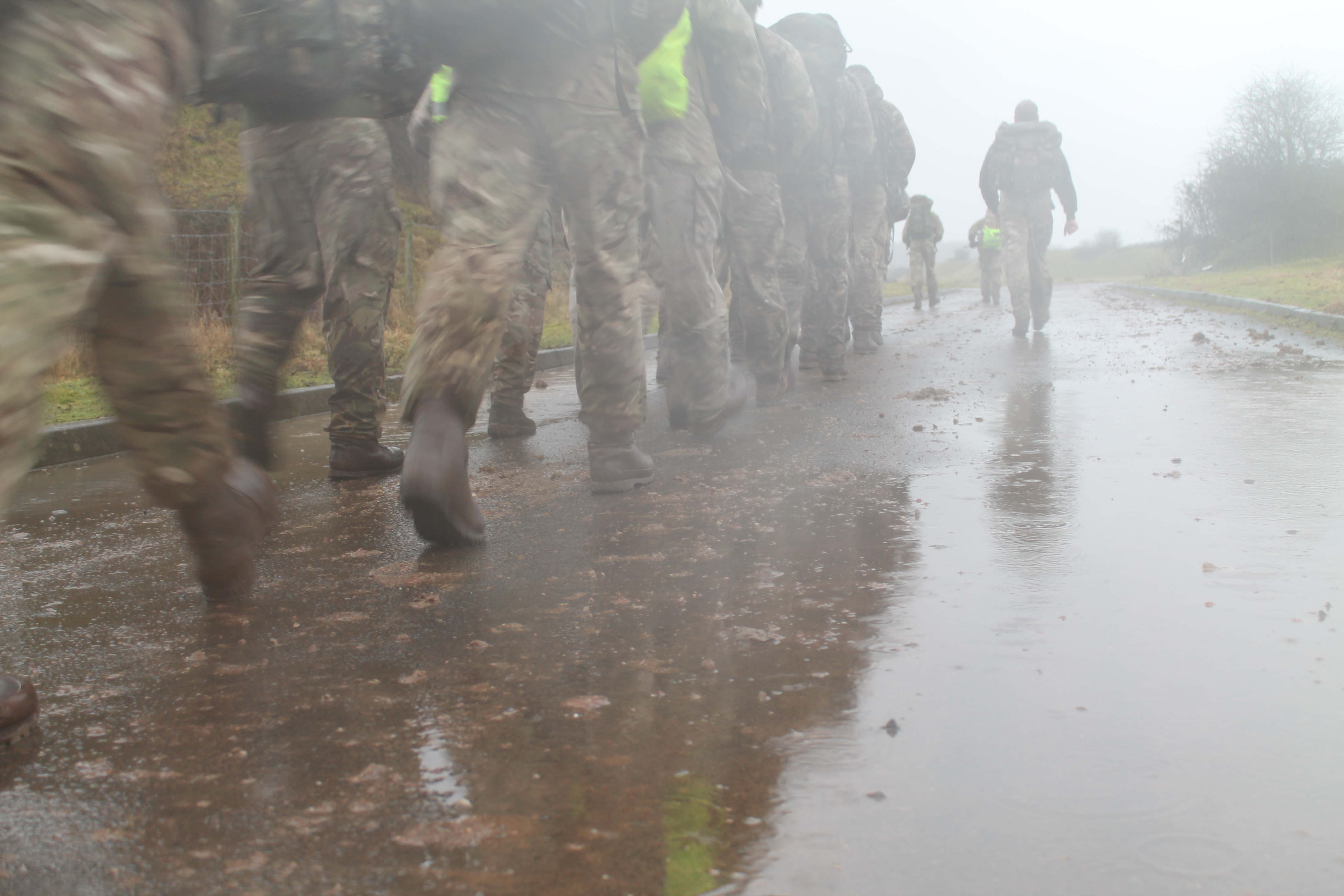 Image result for soldiers in the rain